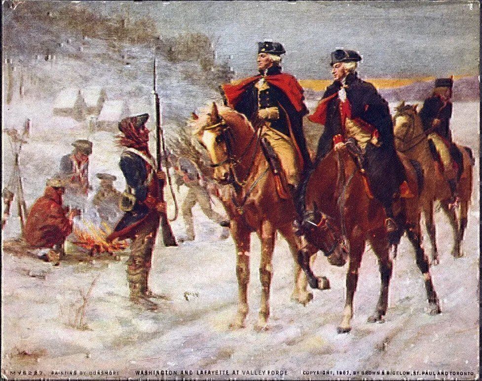 washington-and-lafayette-at-valley-forge