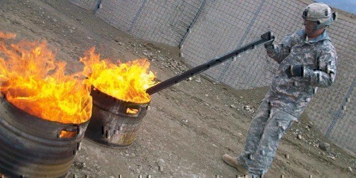 soldier-burning-barrels-of-shit