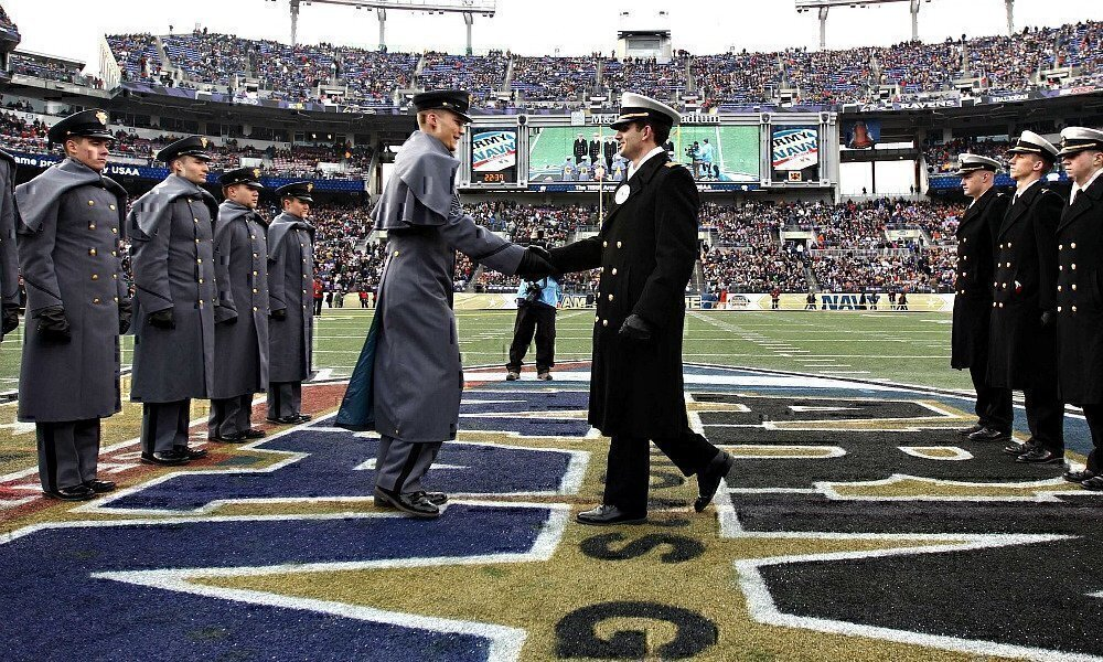 army vs navy football game