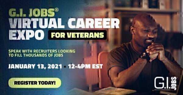 G.I. Jobs Virtual Career Expo