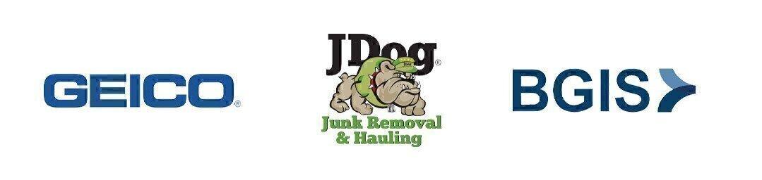 GEICO, JDog and BGIS logos