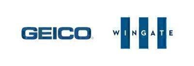 GEICO and Wingate University logos