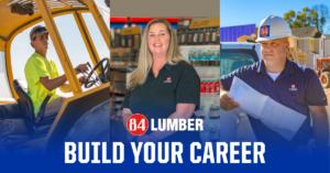 Veteran Employees at work at 84 Lumber